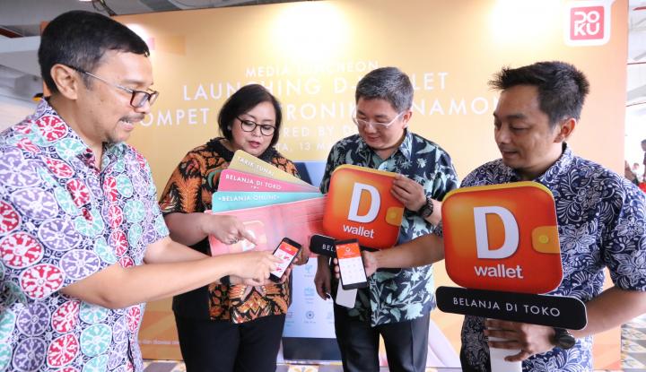 Foto Berita Bank Danamon dan DOKU Luncurkan Dompet Digital