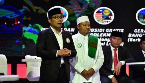Foto Sukarelawan Paslon Emil-Uu Laporkan Ketua Ansor Cirebon