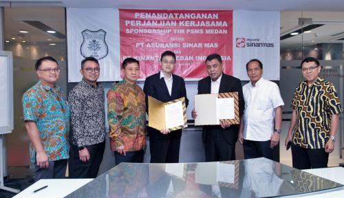 ASM Jadi Sponsorship PSMS Medan
