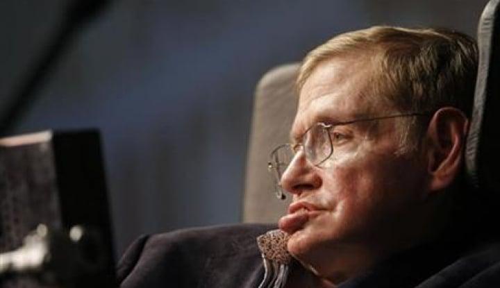 Foto Berita Stephen Hawking Meninggal Dunia di Usia 76 Tahun