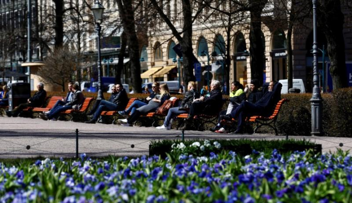 Foto Berita Finlandia Jadi Negara Paling Bahagia di Dunia
