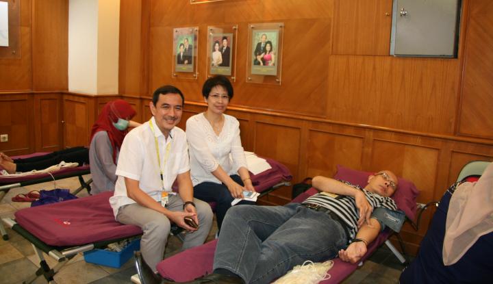 indocare citrapasific gandeng pmi selenggarakan donor darah