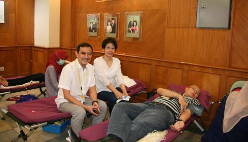 Foto Indocare Citrapasific Gandeng PMI Selenggarakan Donor Darah