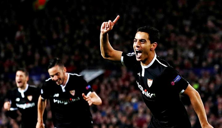 Foto Berita Taklukkan MU, Sevilla ke Perempatfinal Champions untuk Pertama Kali