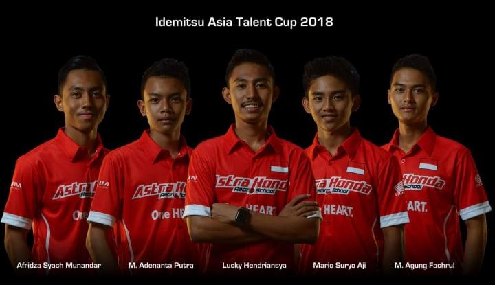 Foto Berita Pebalap Muda Binaan AHM Siap Hadapi Asia Talent Cup 2018
