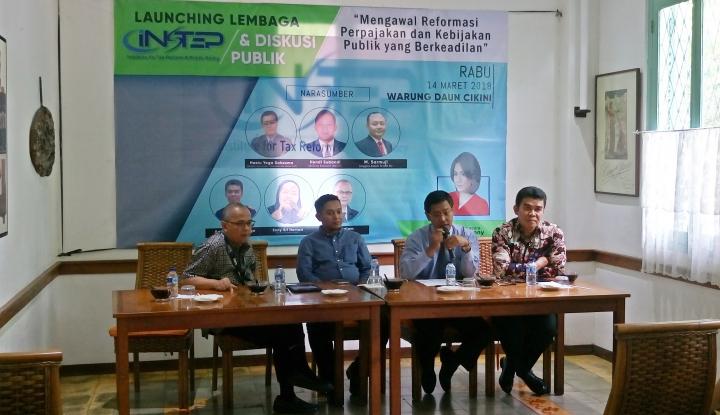 Foto Berita INSTEP Bakal Kawal Reformasi Pajak dan Kebijakan Publik