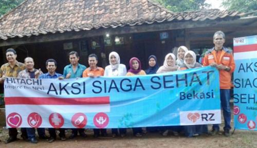 Foto Beri Manfaat bagi Masyarakat Lokal, Hitachi Luncurkan Program Kesehatan