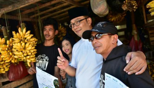 Foto Ridwan Kamil Citrakan Tokoh Agamis di Depan Warga Majalengka