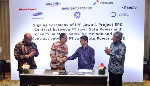Foto Pertamina Pastikan PLTGU 1.760 MW Jawa-1, Masuki Tahap Konstruksi