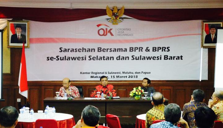 Foto Berita OJK: Aset BPR di Sulselbar Tembus Rp2,39 Triliun