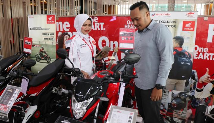 Foto Berita Penjualan All New Honda CB150R Streetfire Tumbuh 12%