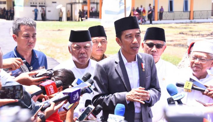Foto Berita Makna Ibadah Puasa untuk Jokowi