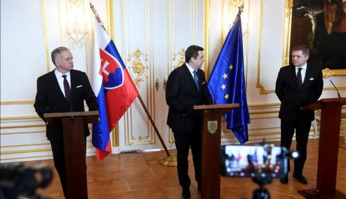 Foto Presiden Slovakia Lakukan Perombakan Besar-besaran di Tubuh Pemerintah