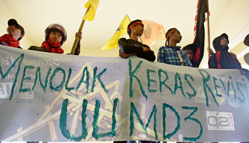 Foto Akademisi: Masyarakat Boleh Lakukan Upaya Hukum UU MD3