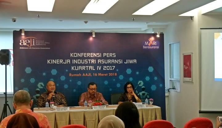 Klaim Asuransi Jiwa Capai Rp121,08 Triliun Sepanjang 2017 - Warta Ekonomi