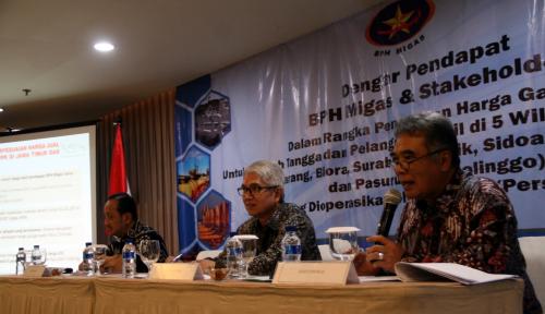 Foto Ini Dia, Rencana BPH Migas Soal Penetapan Harga Gas Wilayah Jateng-Jatim