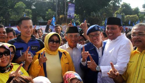 Foto AHY Bakal Keliling 27 Kabupaten/Kota Jawa Barat