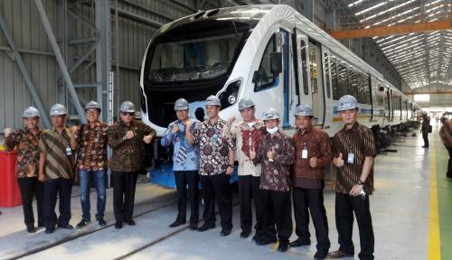 Foto Inka Bakal Uji Coba LRT Palembang