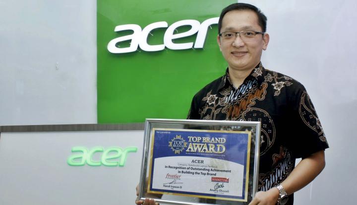 Foto Berita Acer Indonesia Raih Penghargaan Top Brand Award 2018
