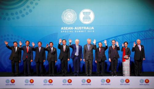 Foto Jokowi: Kemitraan ASEAN-Australia Saling Menguntungkan