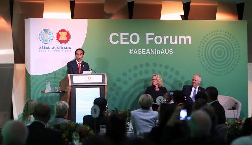 Foto Presiden Jokowi Bertolak ke Selandia Baru