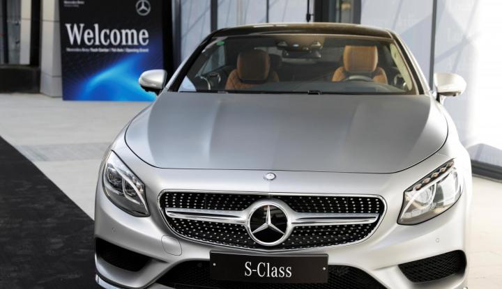 Foto Berita Mercedes-Benz Catatkan Rekor Penjualan Baru di China