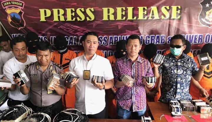 Foto Berita Berkat Informasi Sopir Grab, Pelaku Order Fiktif Dipolisikan