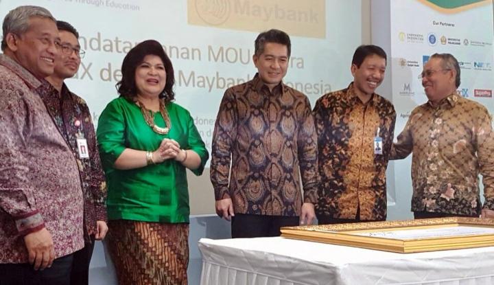 Foto Berita Tingkatkan Literasi Keuangan Syariah, Maybank Gandeng IndonesiaX