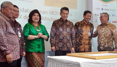 Foto Tingkatkan Literasi Keuangan Syariah, Maybank Gandeng IndonesiaX