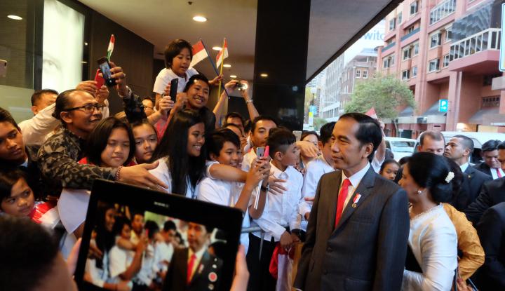 Foto Berita Di Selandia Baru, Jokowi: Jangan Lupa Minum Kopi Indonesia