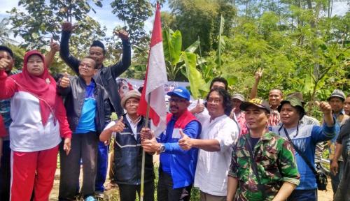 Foto Pertamina Berikan Bantuan Berupa Jembatan di Sukabumi