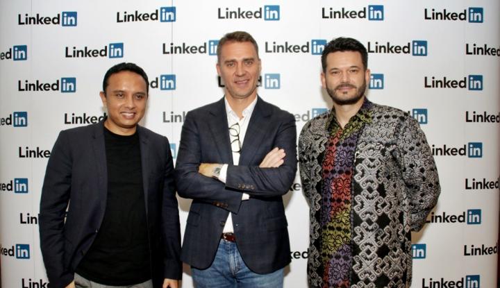 Foto Berita LinkedIn: Komunitas Berperan Penting Capai Kesuksesan