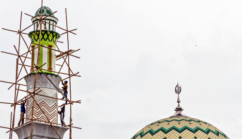 Foto MUI Tak Terima Alasan Pembongkaran Masjid di Papua