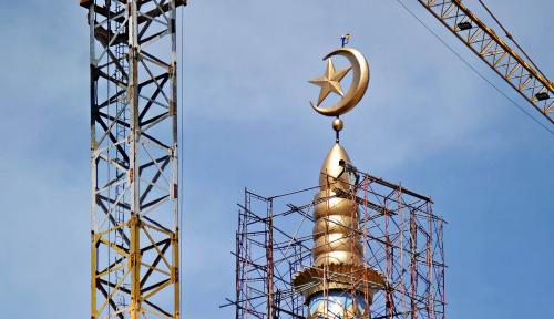 Foto Perwakilan Indonesia Resmikan Masjid di Rusia