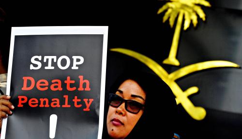 Foto Saudi Minta Indonesia Hormati Hukuman Mati TKI