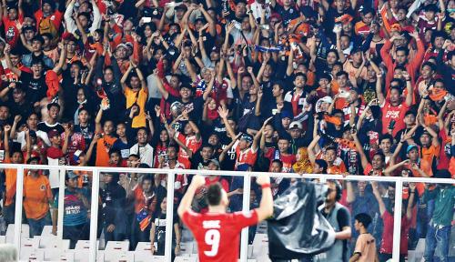 Foto Pasca Teror Bom, Laga Persija vs Home United Dijaga 7.000 Personel Gabungan