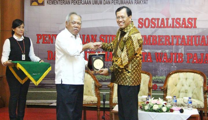Foto Berita Lebih dari 50% Setoran Pajak di KPPN Jakarta V dari Kementerian PUPR