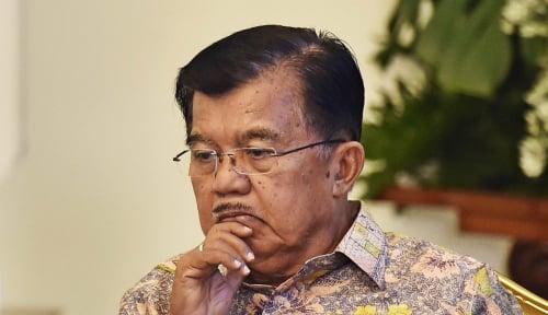 Foto Kata Prabowo 2030 Indonesia Bubar, JK: Hanya Fiksi
