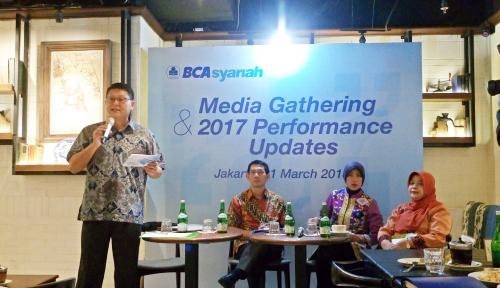 Foto 2018, BCA Syariah Bidik DPK dan Pembiayaan Tumbuh Hingga 20%