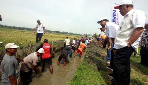 Foto BNI Uji Coba Padat Karya Tunai di Tiga Provinsi