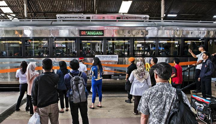 Foto Berita KAI: Tiket Kereta Mudik Lebaran Hampir