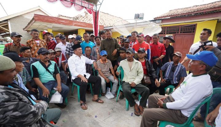 Foto Berita Program Jabar Seubeuh, Kang Hasan: Petani Untung, Rakyat Sejahtera