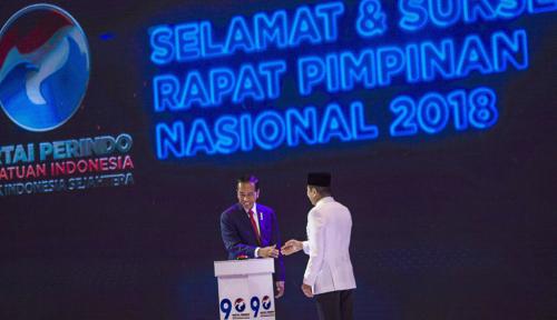 Foto Jokowi Tantang Lawan Politiknya Duel