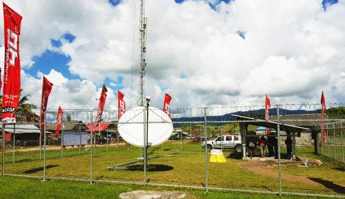 Foto Telkomsel Bangun 568 BTS di Wilayah Terisolir