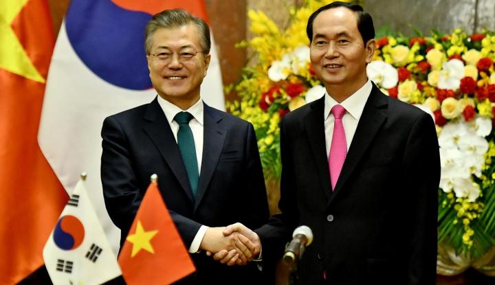Foto Berita Vietnam-Korsel Setuju Perdagangan Bilateral Tembus $100 Miliar di 2020