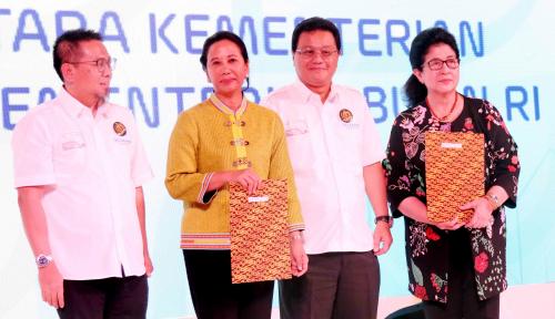 Foto Kementerian BUMN Luncurkan Kartu Sehat untuk Para Karyawannya