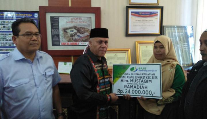 Bupati Aceh Tengah Minta Bpjs Ketenagakerjaan Buka Kantor Cabang Di Wilayahnya