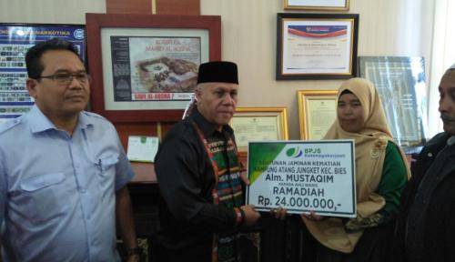 Foto Bupati Aceh Tengah Minta BPJS Ketenagakerjaan Buka Kantor Cabang di Wilayahnya