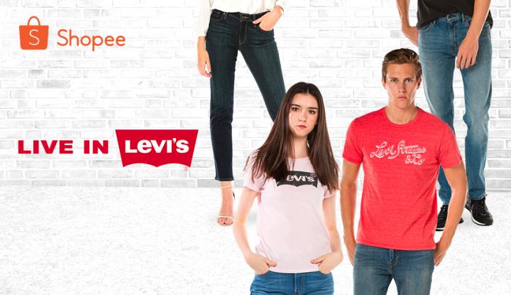 Foto Berita Kini, Levi's® Official Shop Hadir di Shopee!