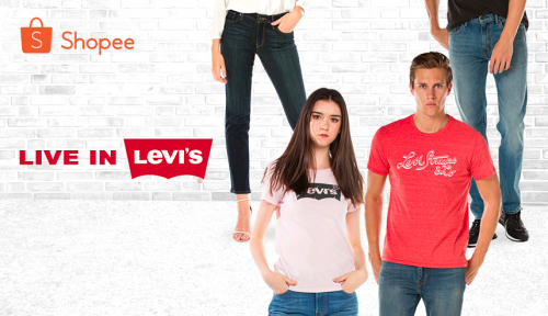 Foto Kini, Levi's® Official Shop Hadir di Shopee!